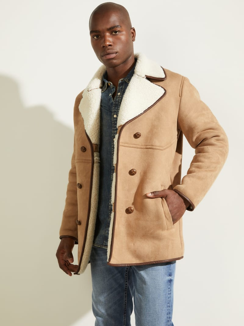 Redford Sherpa-Lined Coat