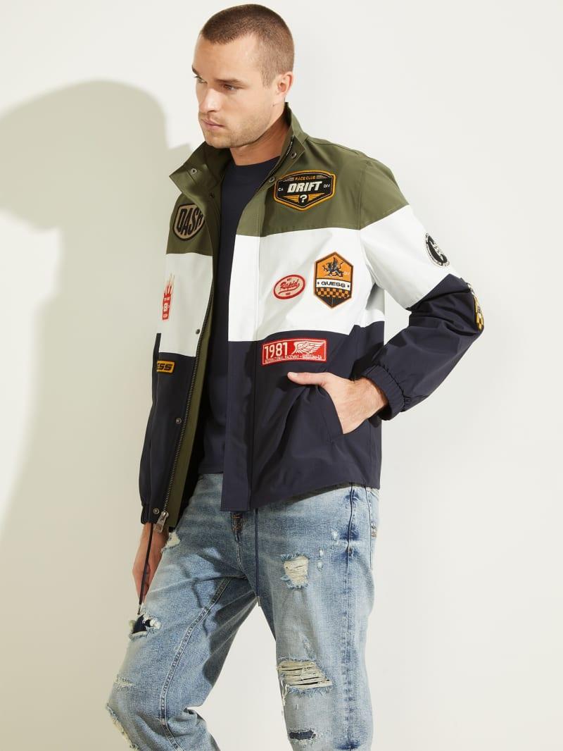 Paul Color-Block Patch Jacket