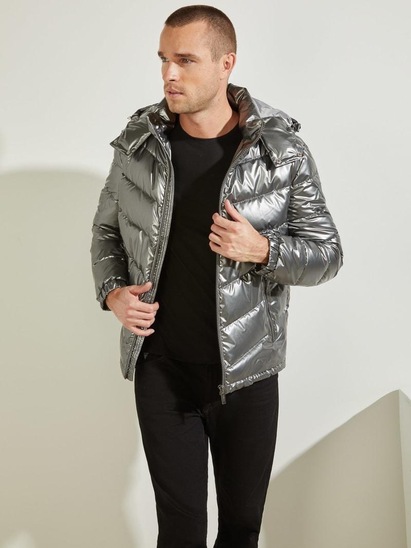 Metal Space Puffer Jacket