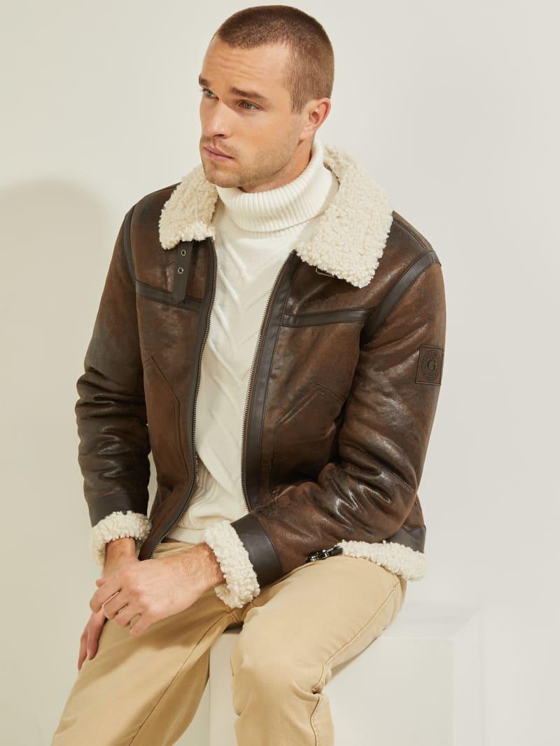 Aviator Shearling Jacket