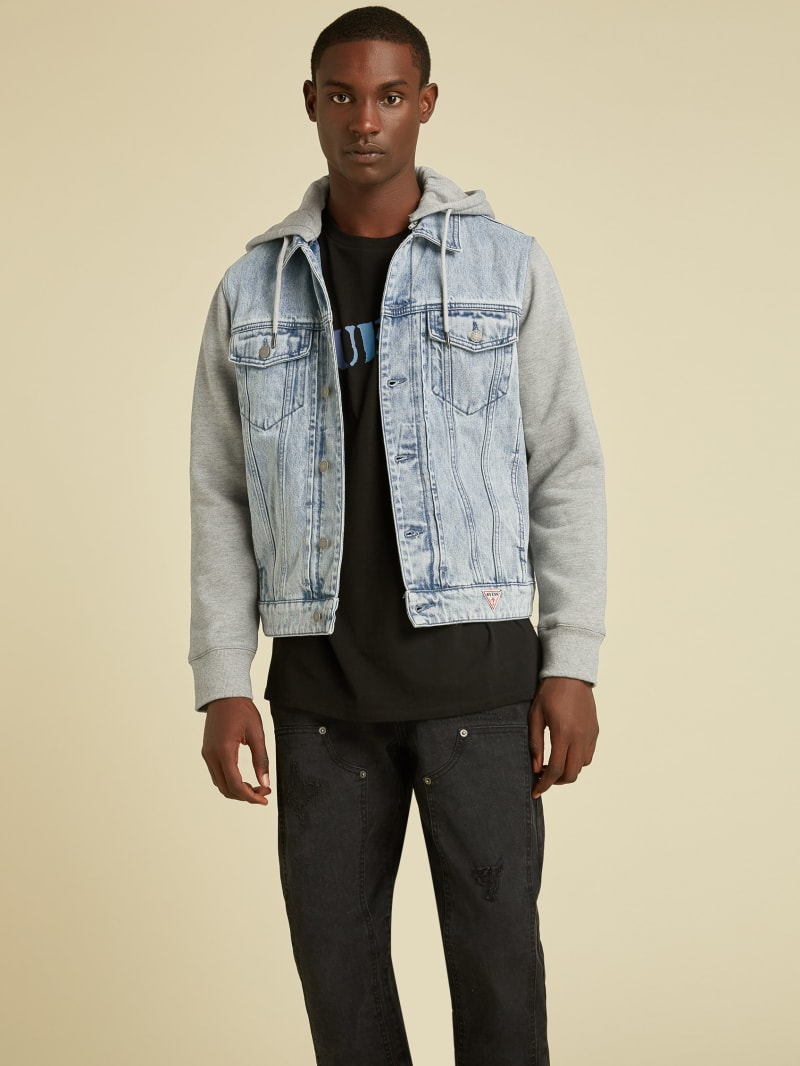 GUESS Originals Hooded Denim Jacket