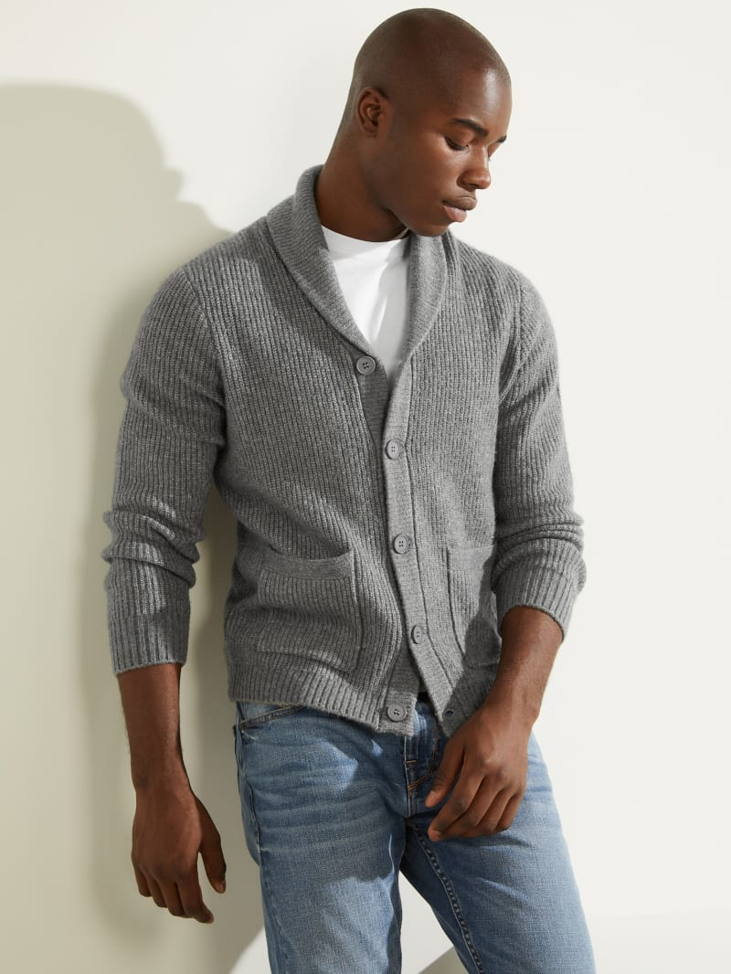 Declan Shawl Cardigan Sweater