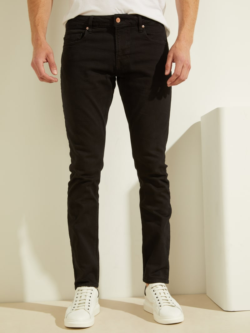 Classic Solid Skinny Jeans