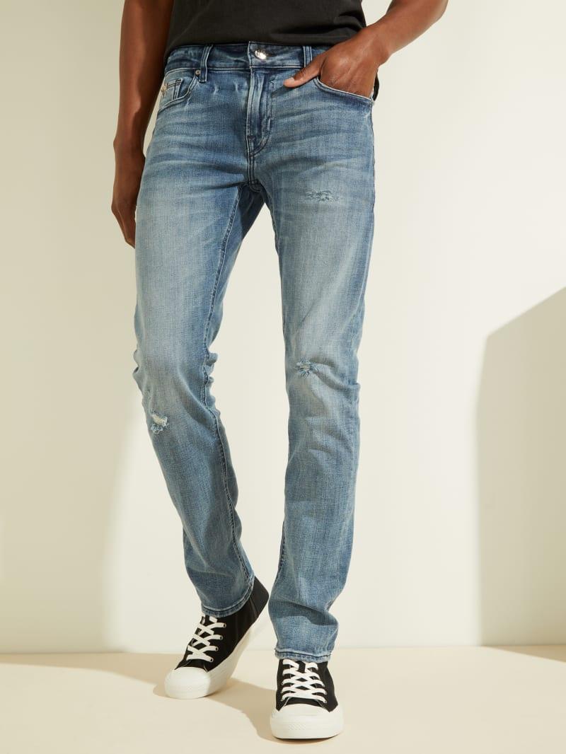 Eco Distressed Skinny Jeans