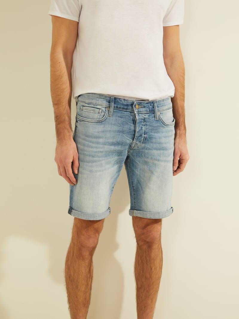 Sonny Faded Denim Shorts