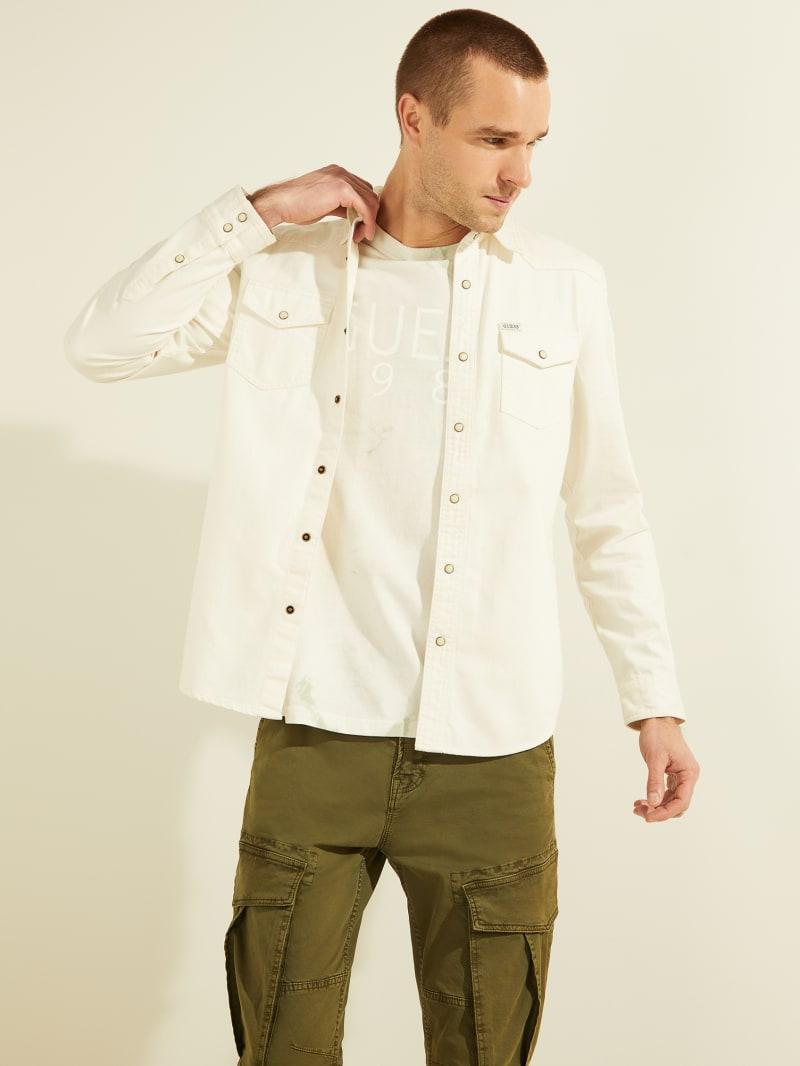White Western Shirt