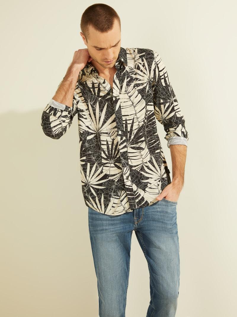 Eco Foliage Print Shirt