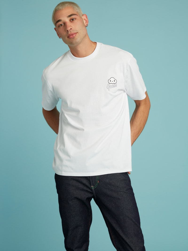 GUESS x FriendsWithYou Logo Tee