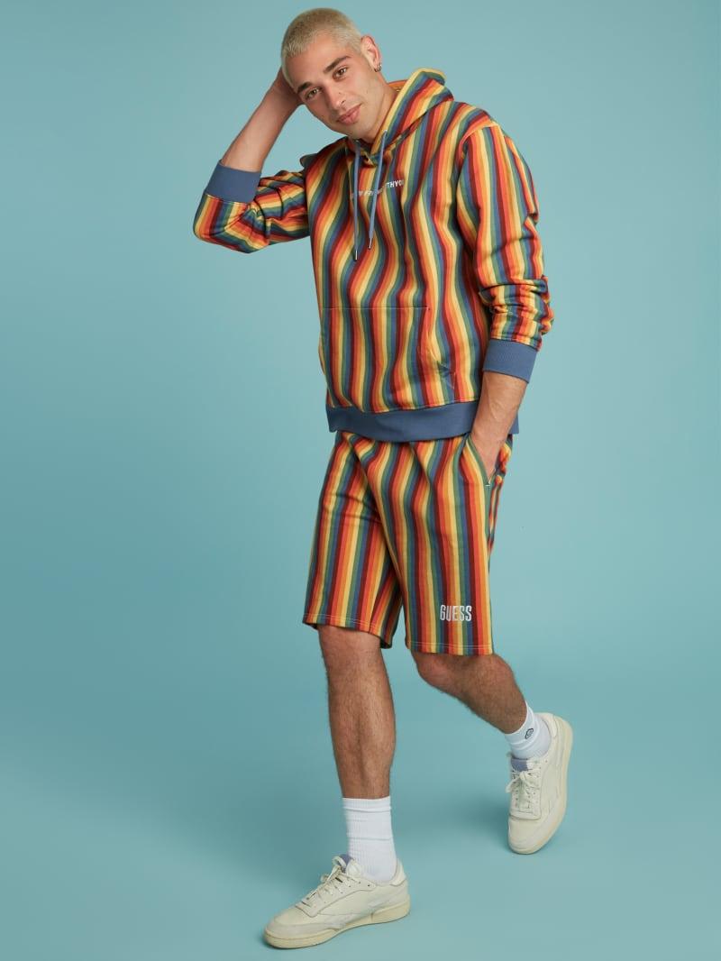 FriendsWithYou  Stripe Shorts