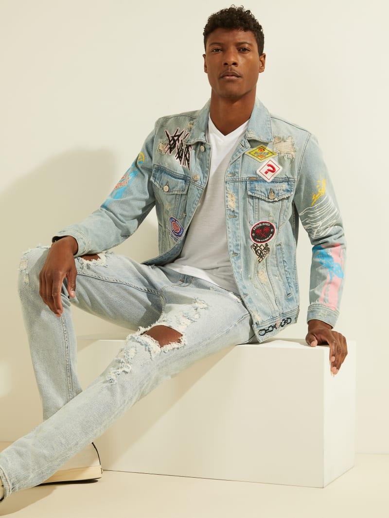Dillon Graffiti Denim Jacket