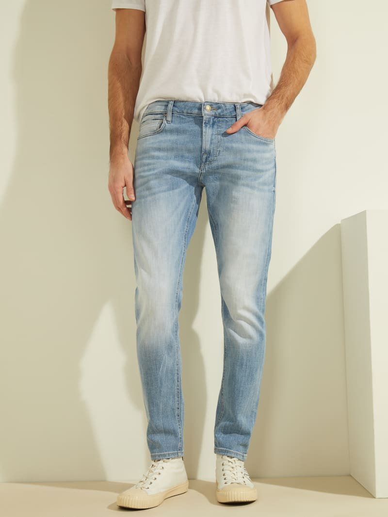 Eco Faded Skinny Jeans