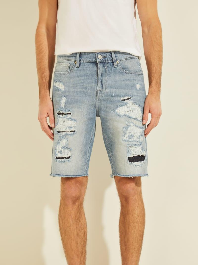 Eco Slim Denim Shorts