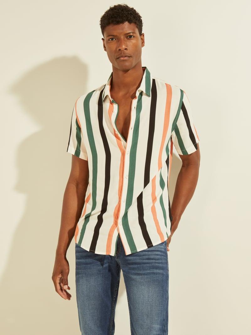 Eco Art Stripe Shirt