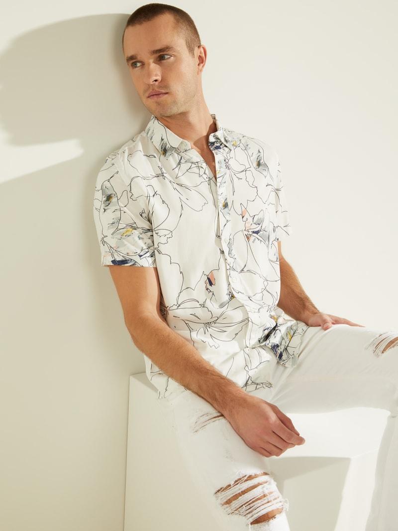 Eco Floral Print Shirt