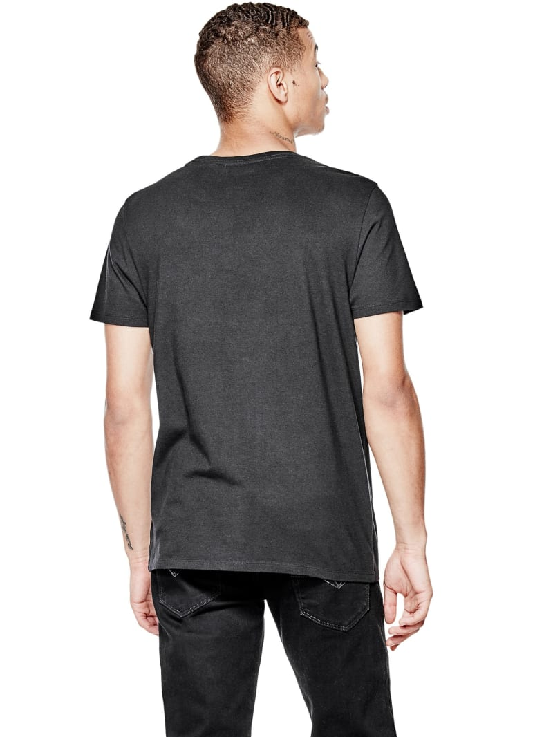 Guess T-shirt rouge avec logo avant b/éb/é gar/çon