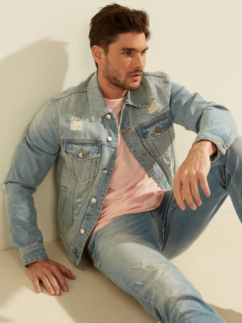 Dillon Light-Wash Denim Jacket