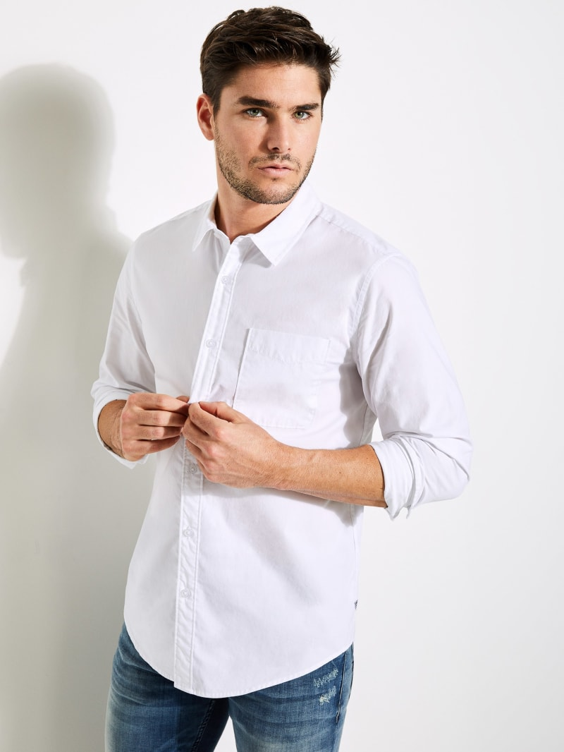 Paul Poplin Pocket Shirt