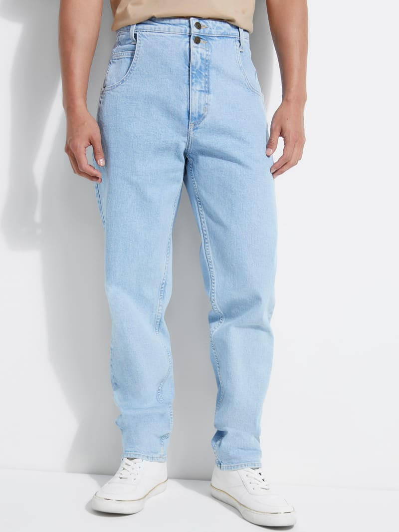 GUESS Originals Straight Utility Jeans