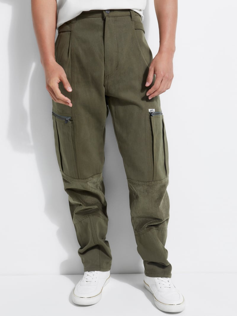 GUESS Originals Oversized Corduroy Cargo Pants