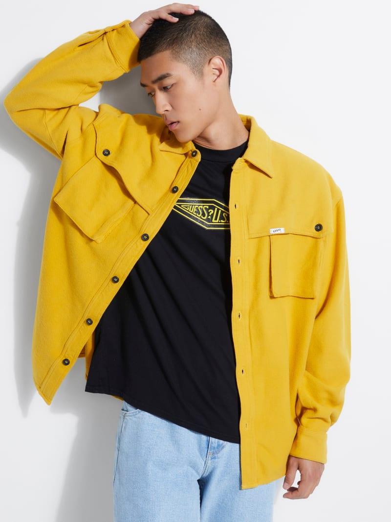 GUESS Originals Storm Flannel Cotton Shirt
