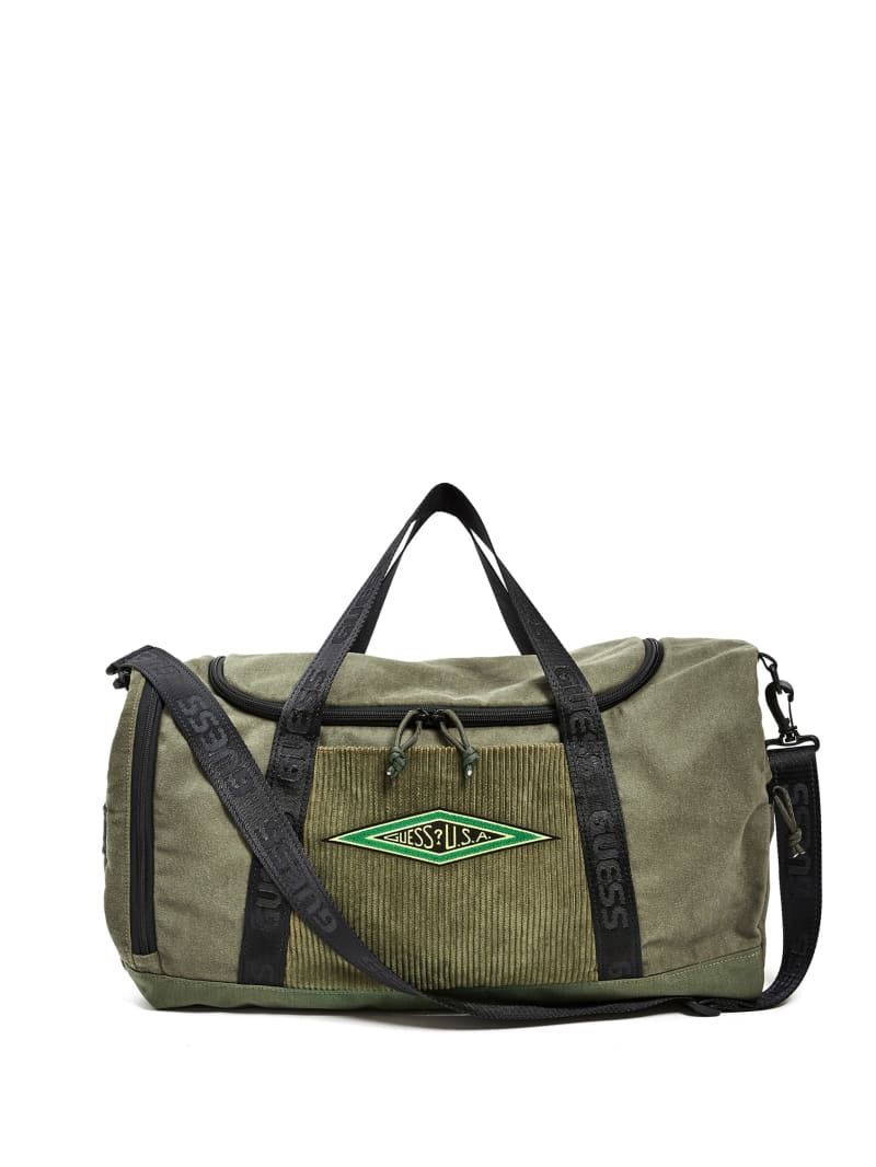 GUESS Originals Corduroy Duffle Bag