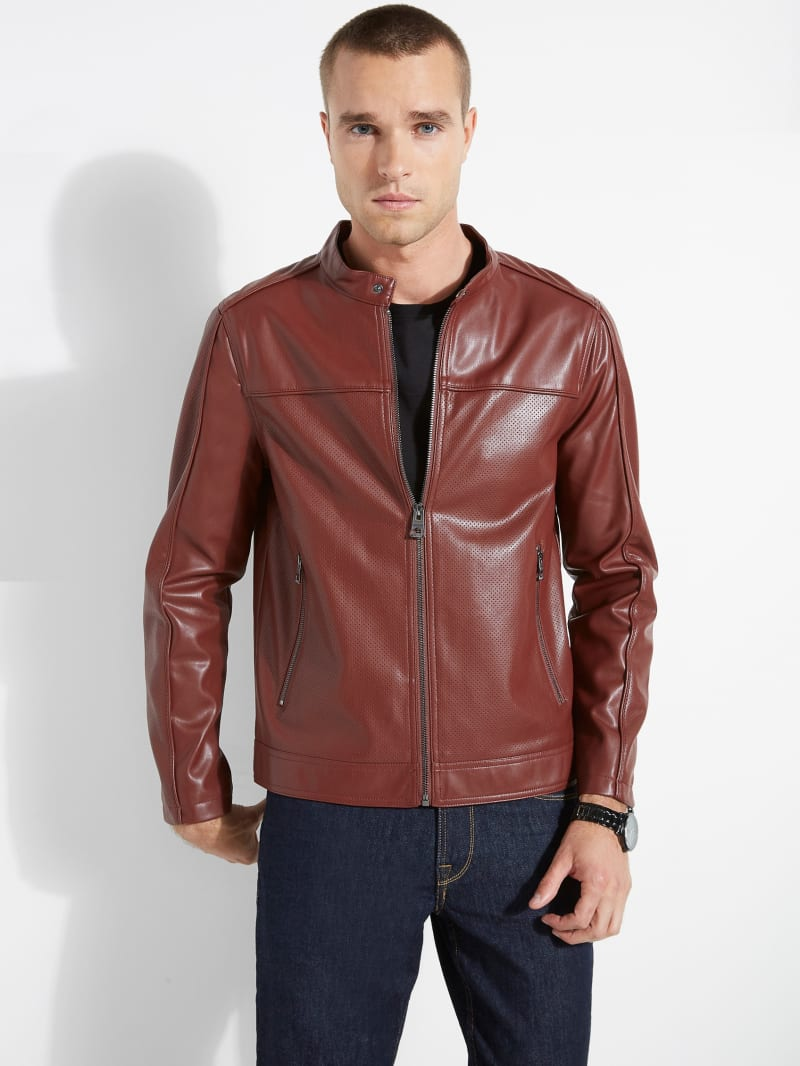 Beau Perforated Jacket