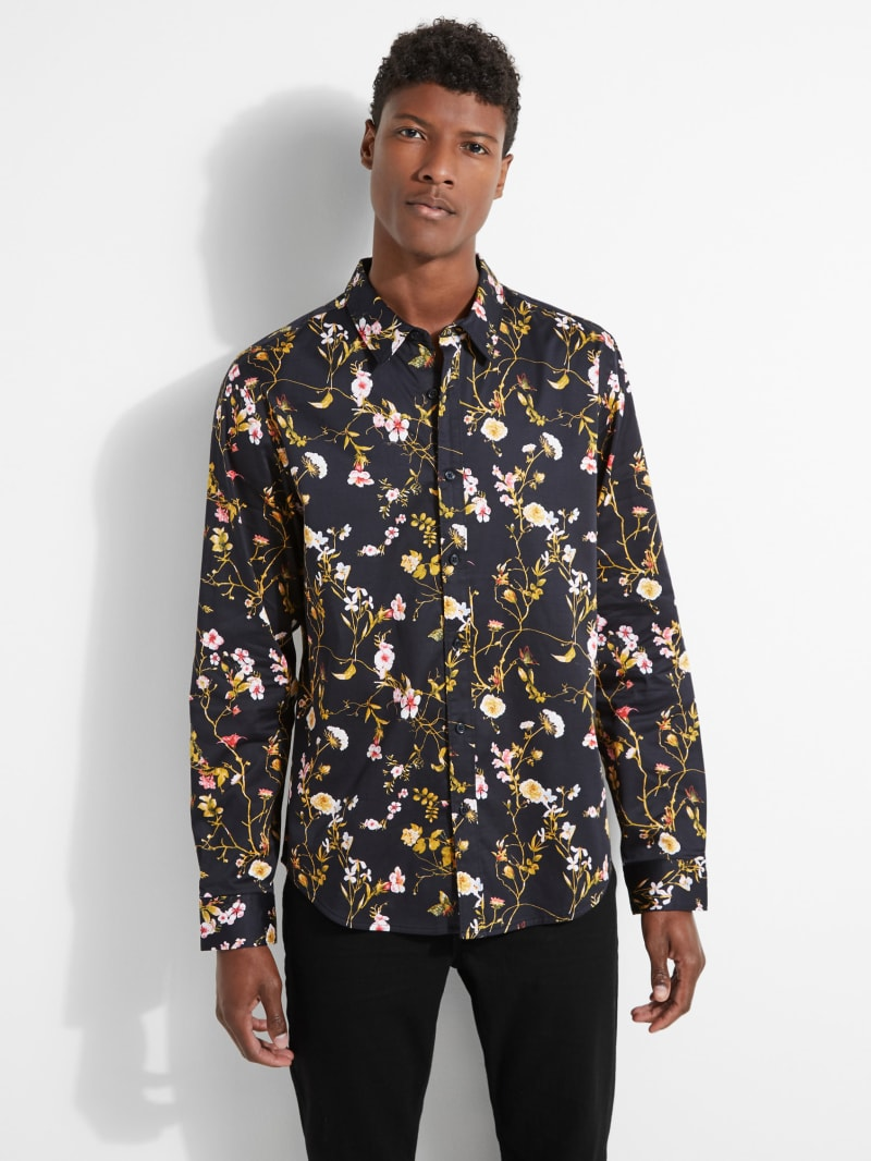 Luxe Majestic Floral Shirt