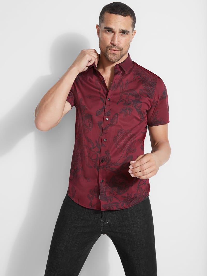 Luxe Baroque Floral Shirt