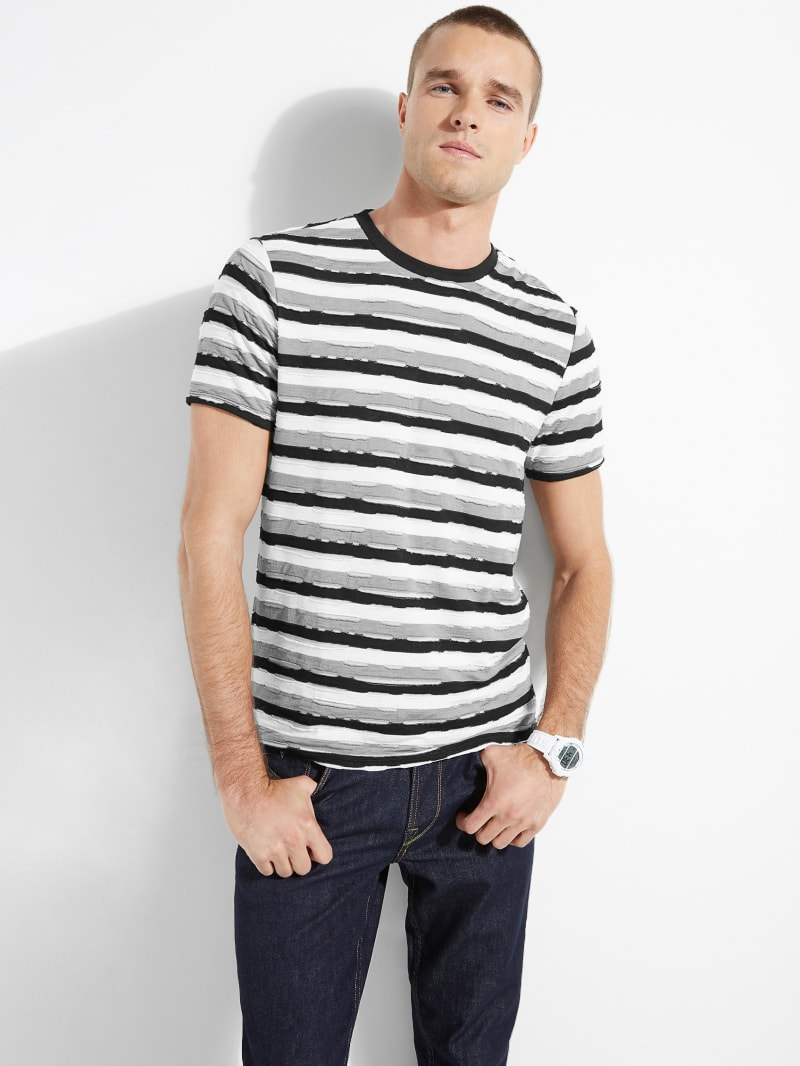 Repaired Jersey Stripe Tee