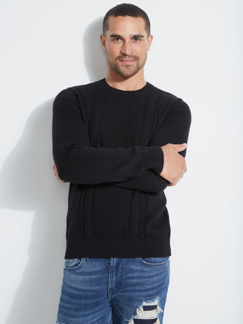 Dawson Cable-Knit Sweater