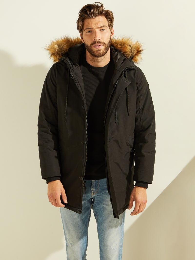 Jack Faux-Fur Hooded Parka