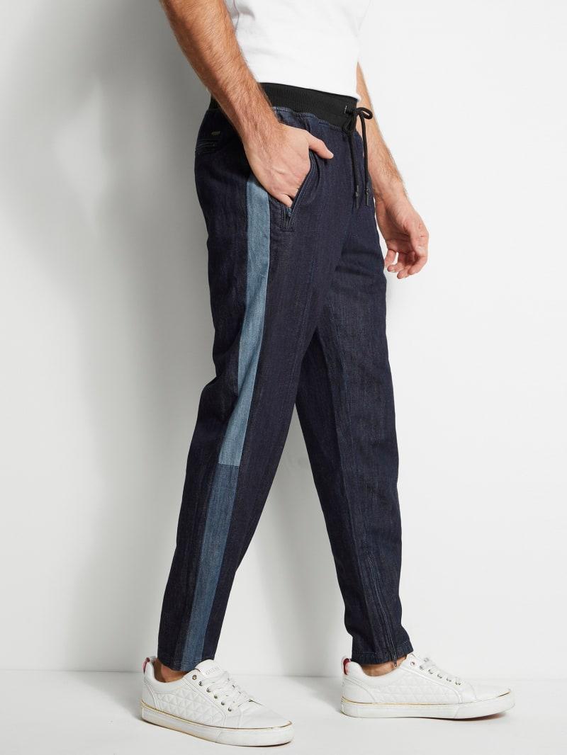 Chambray Track Pants