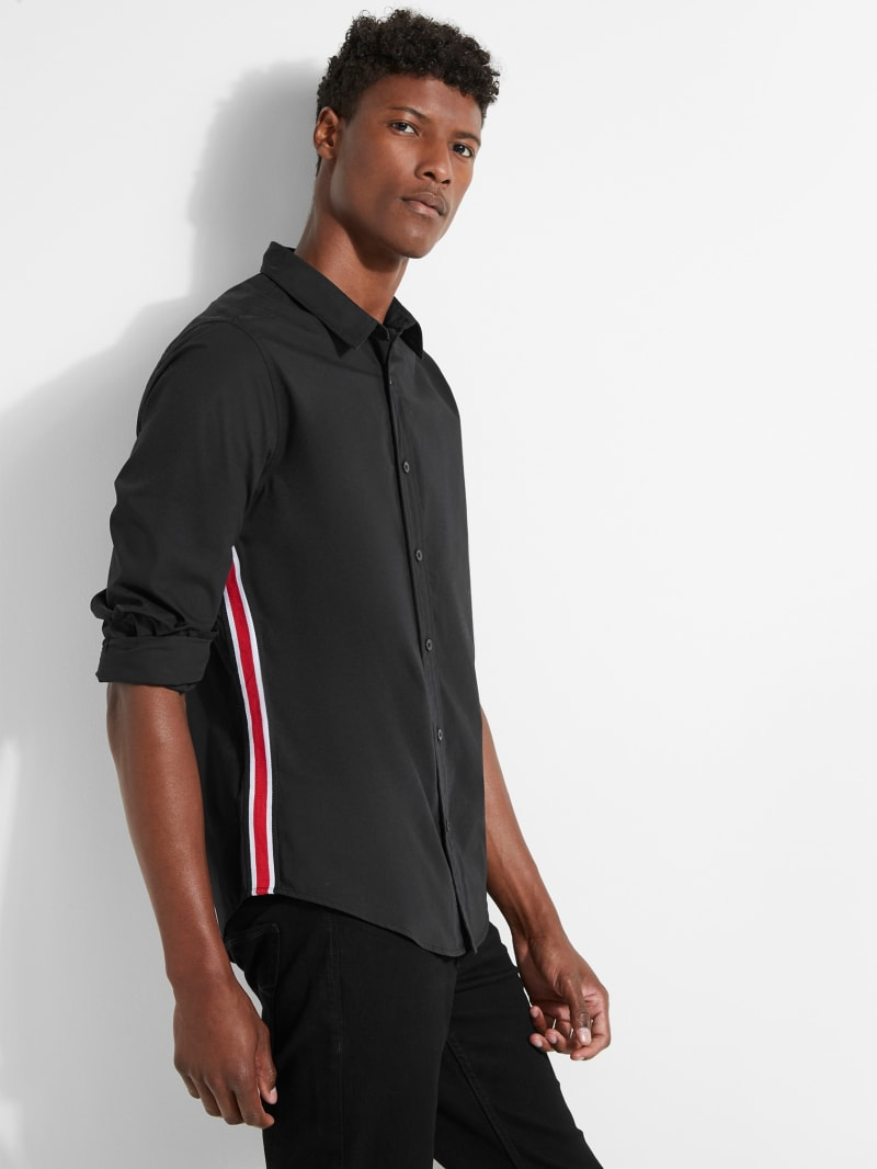 Poplin Side Stripe Shirt