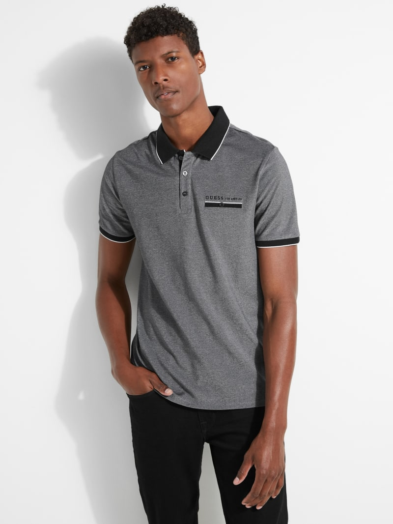 Kirby Textured Polo