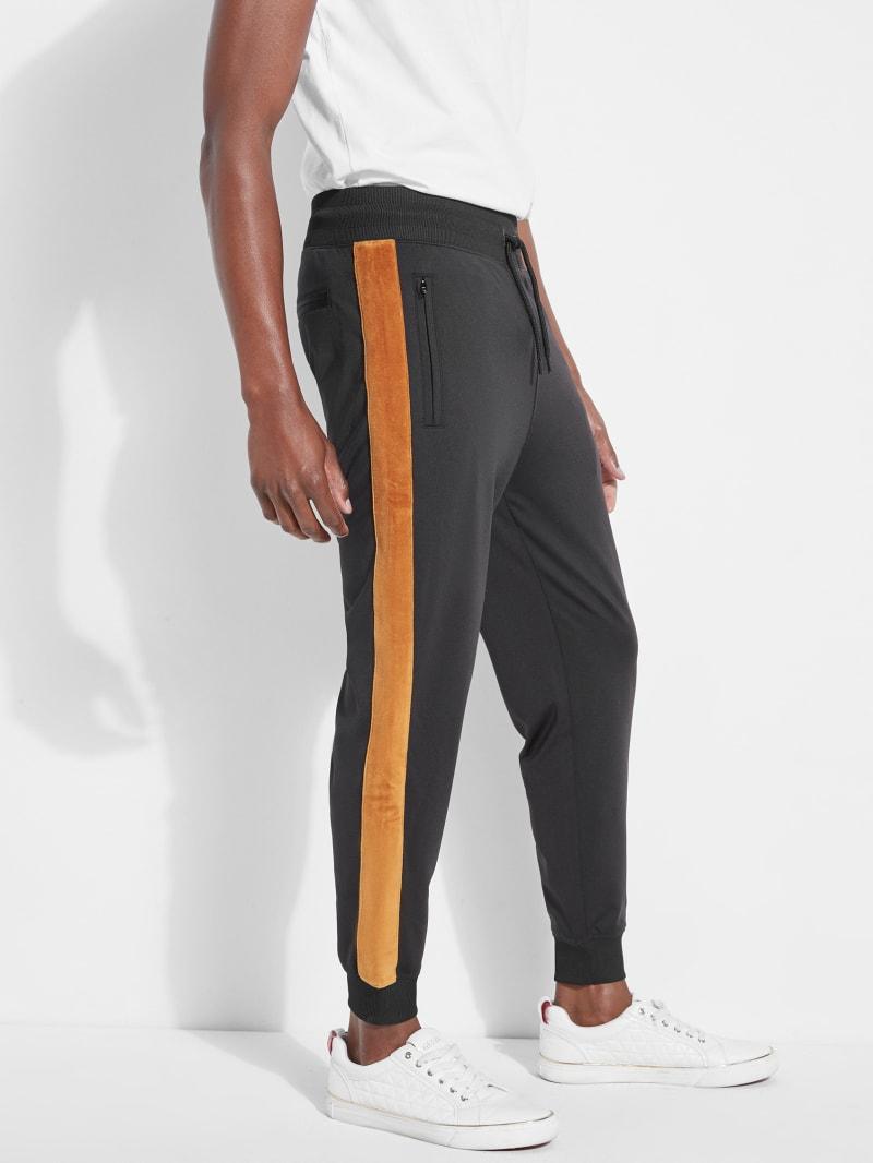 Keith Velvet-Trim Track Pants