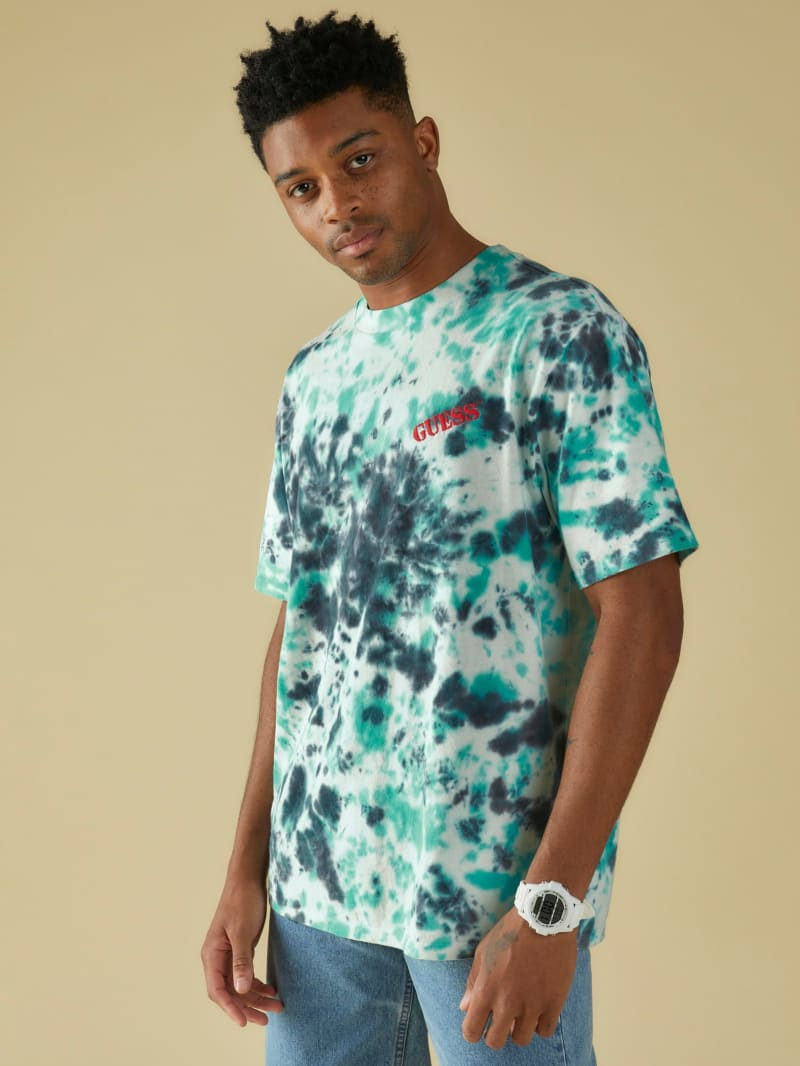 GUESS Originals Tie-Dye Logo Tee