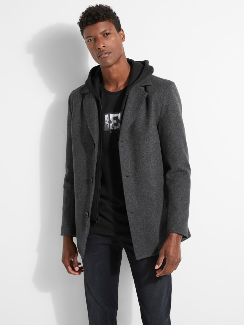 2-in-1 Hooded Coat