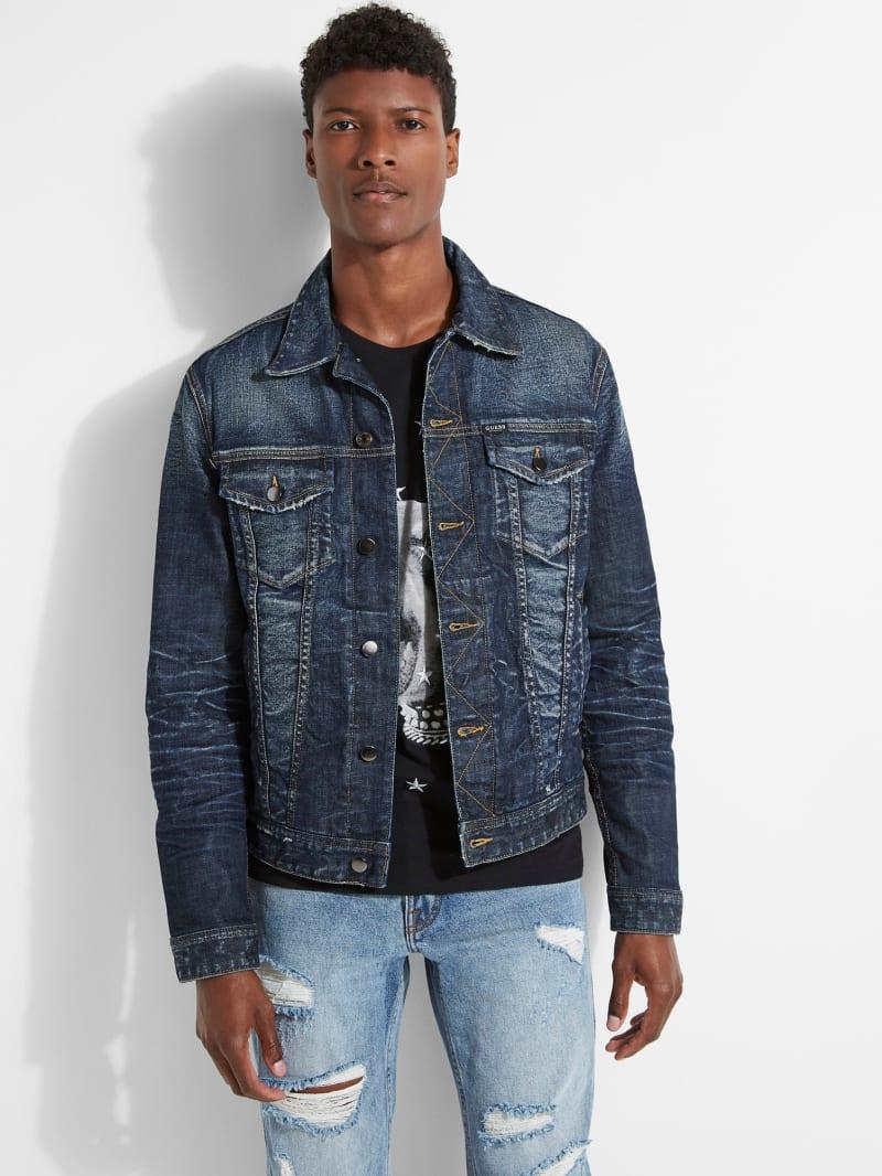 Dillon Distressed Denim Jacket