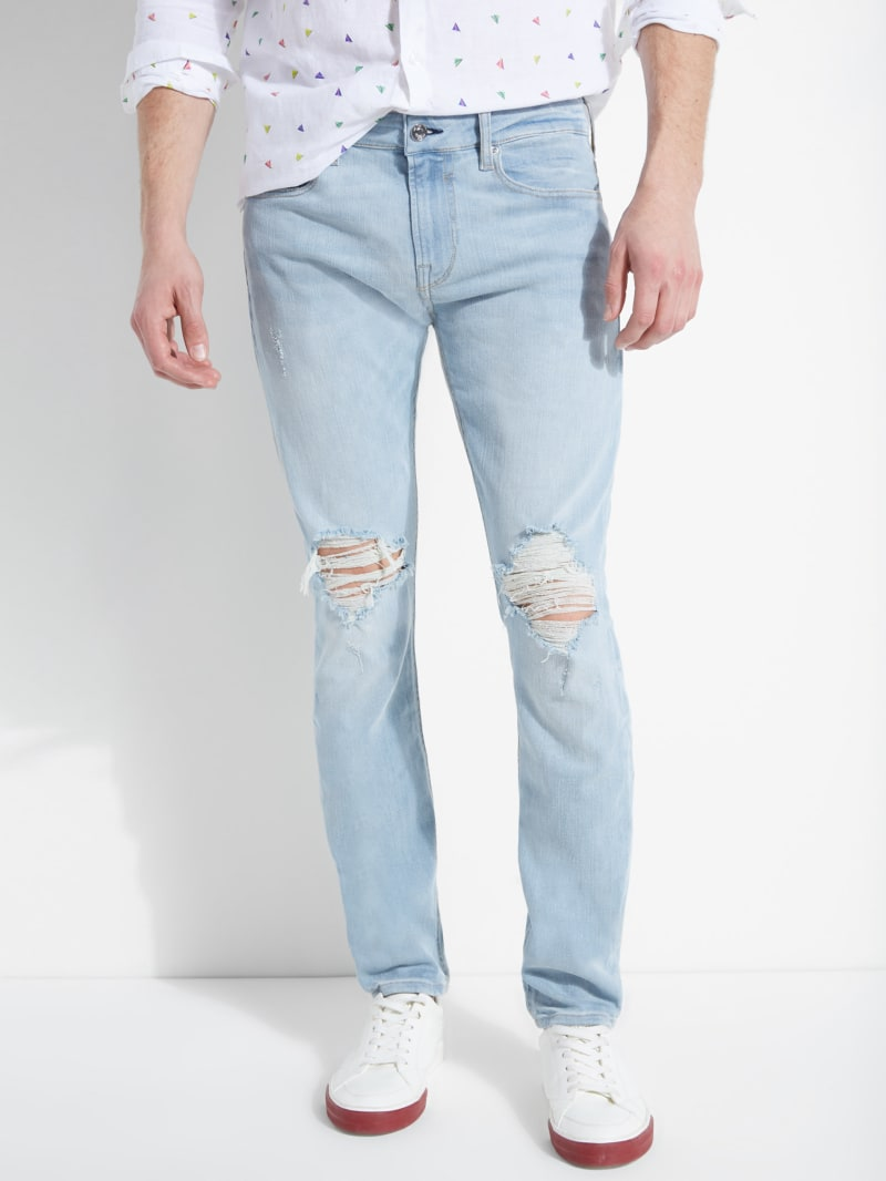 Freeform Destroyed Skinny Jeans