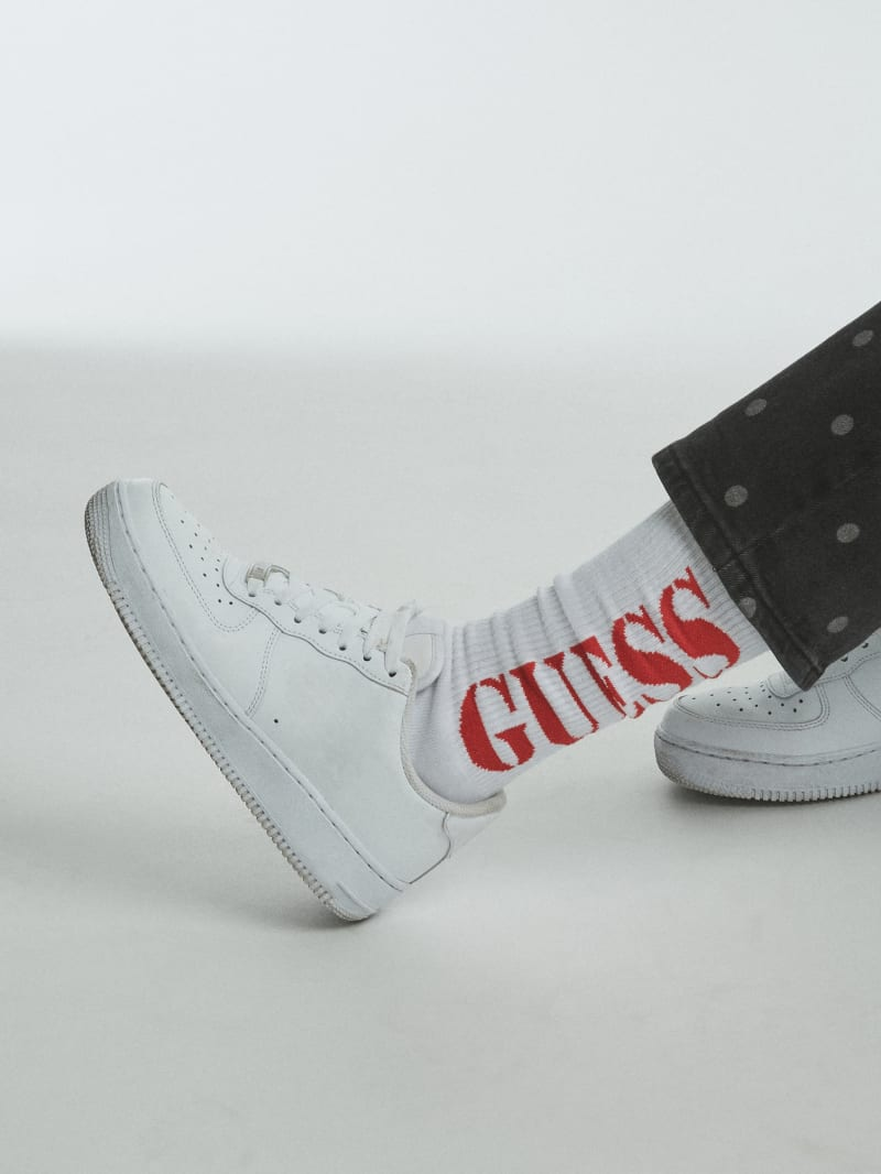 GUESS Originals x PLEASURES Logo Socks