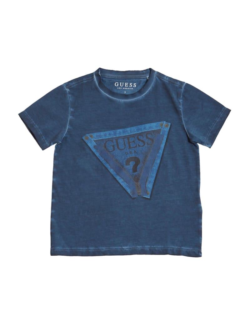 Denim Triangle Logo Tee (2-7)