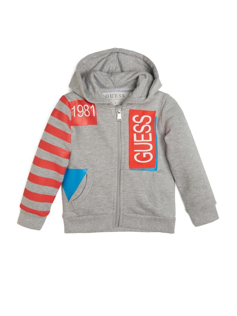 Logo Hooded Zip-Up Sweatshirt (2-7)