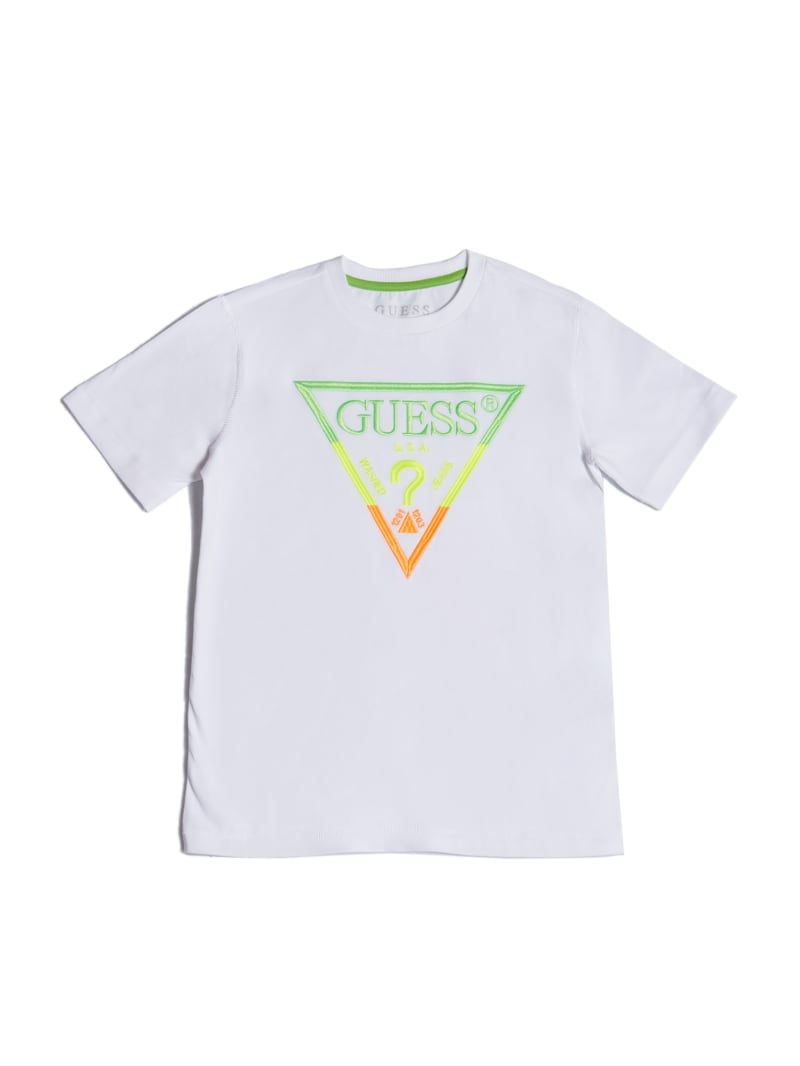 Embroidered Logo Tee (2-7)