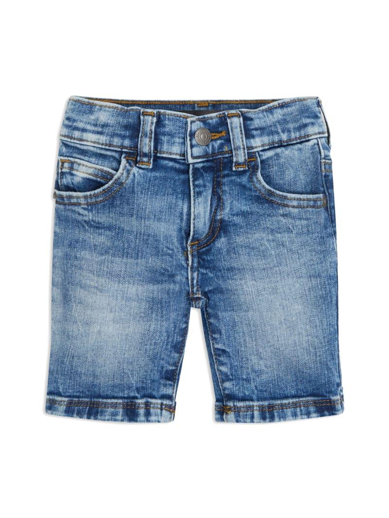Faded Denim Shorts (2-7)