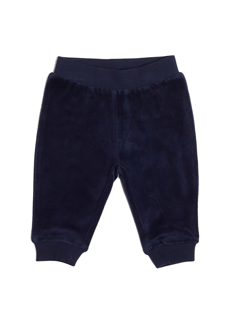 Embroidered Velour Joggers (0-24 mo)
