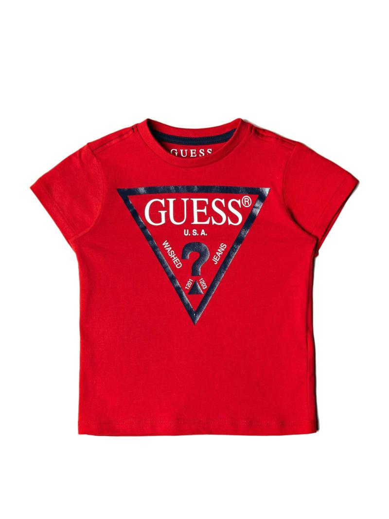 GUESS Kids Short-Sleeve Triangle Logo Tee (2-7)