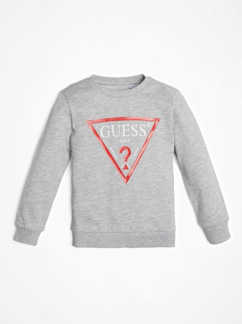 GUESS Kids Logo Crewneck Pullover (2-7)