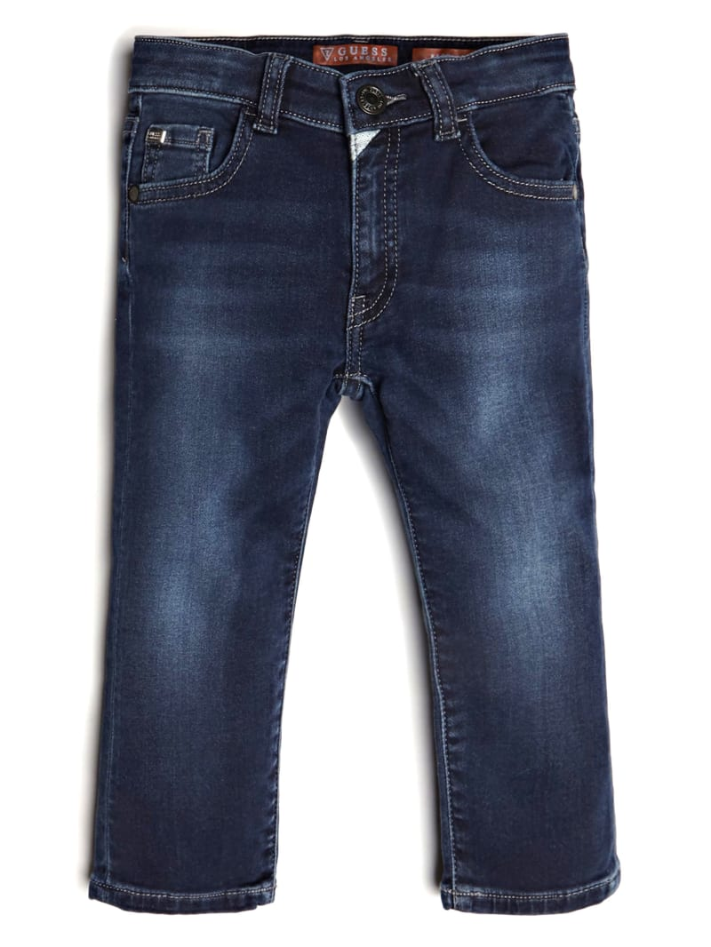 Straight-Leg Denim Jeans (2-7)