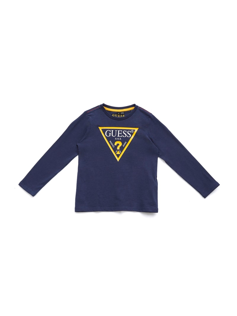 GUESS Kids Long-Sleeve Logo Tee (2-7)