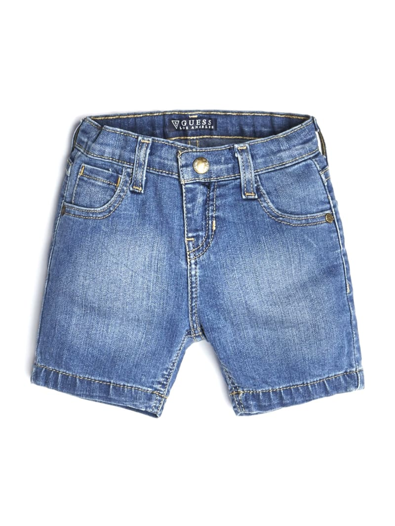 GUESS Kids Faded Denim Shorts (2-7)